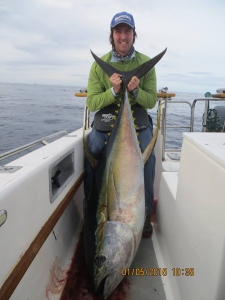 The first Tuna for the day.